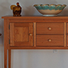 Shaker styled Huntboard or Sideboard or Kitchen Work Table